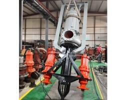 132kw潜水渣浆泵机组
