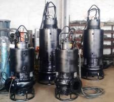 潜水渣浆泵带冷却罩